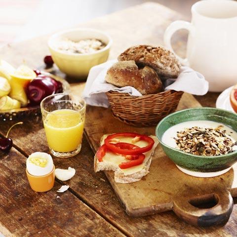 Frukost på Hotell Björnforsen